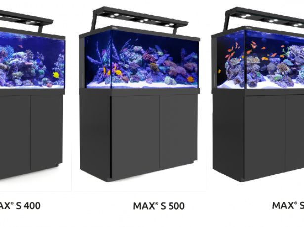 Akvárium Red Sea MAX S - 400 LED - Black